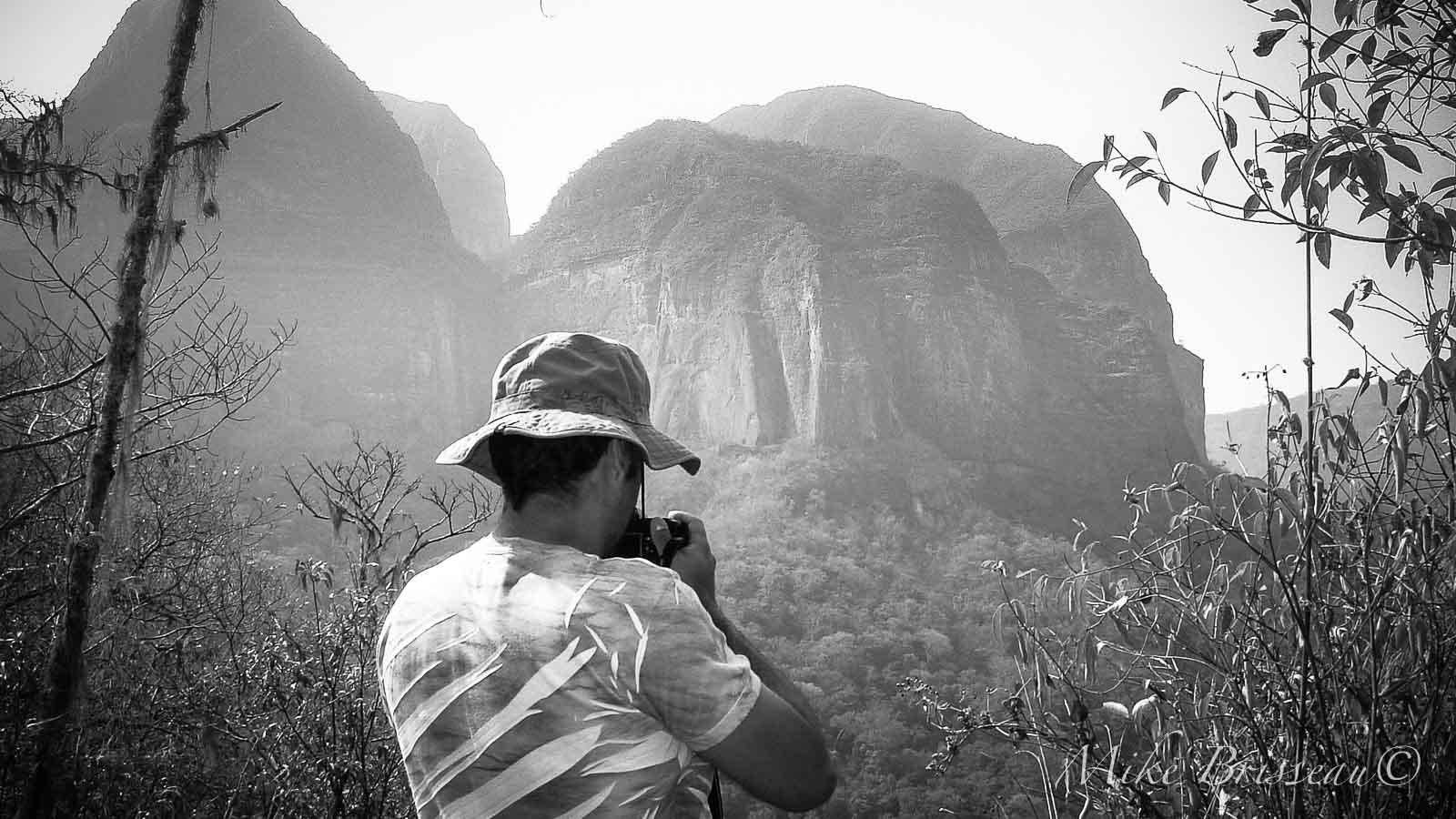Bolivie - Amazonie - Photographe - Autoportrait