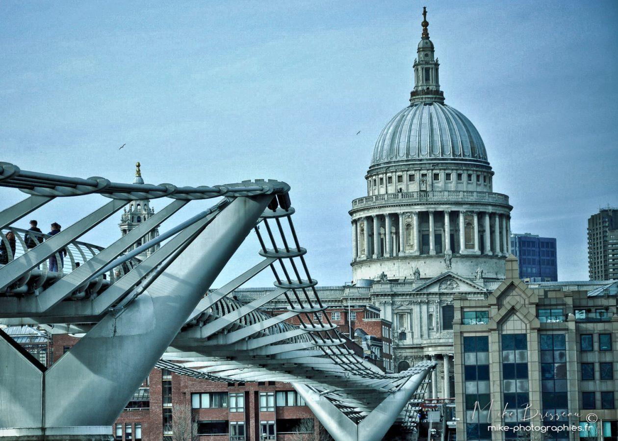 Londres, Urbain, Ville, centre ville, city