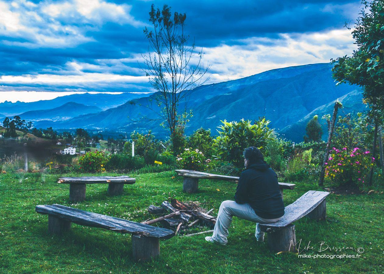 Communauté Karani, Equateur, Humains, Karani, Lifestyle, Mike, Paysages, flore, landscape, personne, style de vie, vue