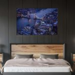 Chambre_sombre, Déco, Décoration, Décoration d'intérieur, Home Staging, Tableau photo