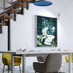 Déco, Décoration, Décoration d'intérieur, Home Staging, Salle_à_manger, Tableau photo